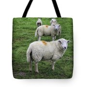 Sheep On Parade Tote Bag