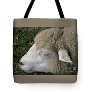 Sheep Sleep Tote Bag