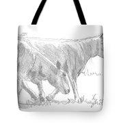 Sheep Walking Tote Bag
