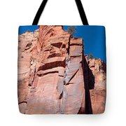 Sheer Canyon Walls Tote Bag