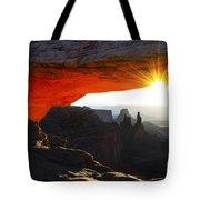 Sheer Magic Mesa Arch Utah Tote Bag