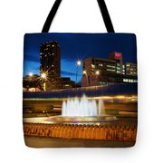 Sheffield Water Feature Tote Bag