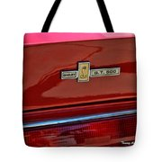 Shelby Gt 500 Mustang 4 Tote Bag