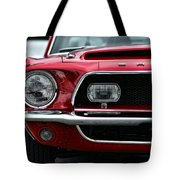 Shelby Mustang Tote Bag