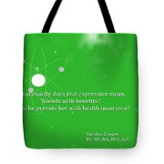 Sheldon Cooper - Friends With Benefits Tote Bag