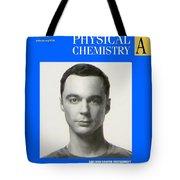 Sheldon Cooper Magazine Cover Tote Bag