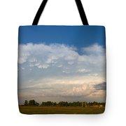 Shelf Cloud Mamacumulus Leading Edge  Tote Bag