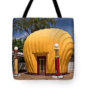 Shell-shaped Shell Station North Carolina Tote Bag