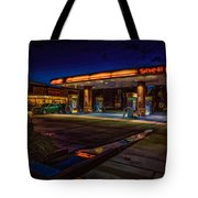 Shell Station Tote Bag
