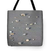 Shells On A Beach Tote Bag