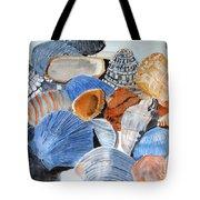 Shells On The Beach Tote Bag