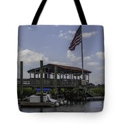 Shem Creek Bar And Grill Tote Bag
