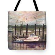 Shem Creek Tote Bag by Ben Kiger