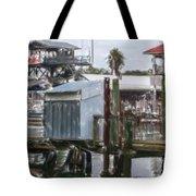 Shem Creek Dockage Tote Bag