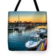 Shem Creek Sunset Tote Bag