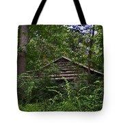 Shenandoah Log Cabin Tote Bag