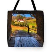 Shenandoah Virginia Covered Bridge Tote Bag