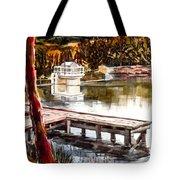 Shepherd Mountain Lake Bright Tote Bag by Kip DeVore