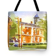 Sheriffs Residence With Courthouse II Tote Bag