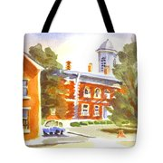 Sheriffs Residence With Courthouse Tote Bag