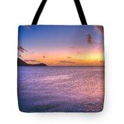 Sherri's Sunset St. Lucia Tote Bag