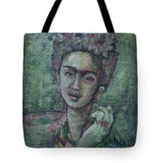 She's Free To Fly Tote Bag