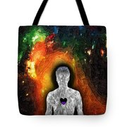 Shielded From God Tote Bag