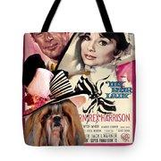 Shih Tzu Art - My Fair Lady Movie Poster Tote Bag