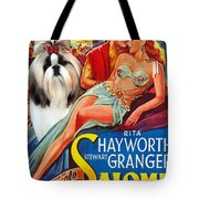 Shih Tzu Art - Salome Movie Poster Tote Bag
