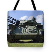 Shilka Zsu-23-4 Tote Bag