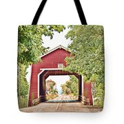 Shimanek Covered Bridge Tote Bag