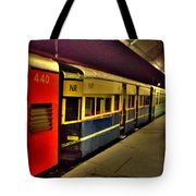 Shimla Toy Train Tote Bag