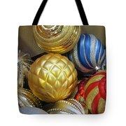 Shimmering Bauble Tote Bag