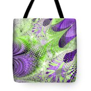 Shimmering Joy Abstract Digital Art Tote Bag