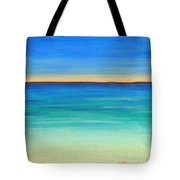 Shimmering Sea Tote Bag