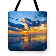 Shimmering Sundown Tote Bag