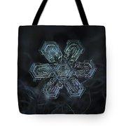 Snowflake Photo - Shine Tote Bag