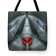 Shine In Silver Tote Bag by Evelina Kremsdorf
