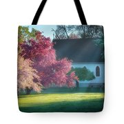 Shine The Light On Me Square Tote Bag