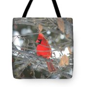 Shining Bright Red Tote Bag