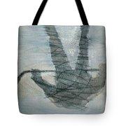 Shinny Shilouette Wc Tote Bag