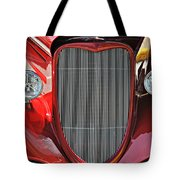 Shiny Red Tote Bag