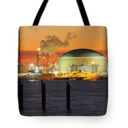 Shiny Refinery #3 2am-27808 Tote Bag