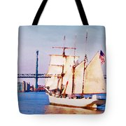 Ship Coming In Tote Bag