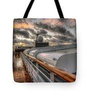 Ship Deck Tote Bag