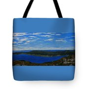 Ship Harbour From Sugarloaf Hill Tote Bag