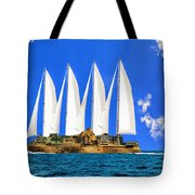 Ship Of State Tote Bag