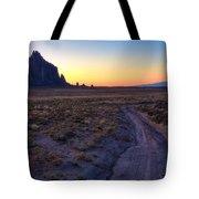 Shiprock Sunset Tote Bag