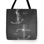 Ship's Anchor Patent Tote Bag