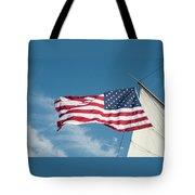 Ship's Flag Tote Bag